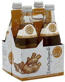 grown-up soda extra dry ginger ale GuS Nutrition info