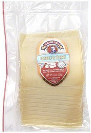 gruyere sliced Grand Cru Nutrition info