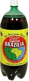 guarana natural fruit Brazilia Nutrition info