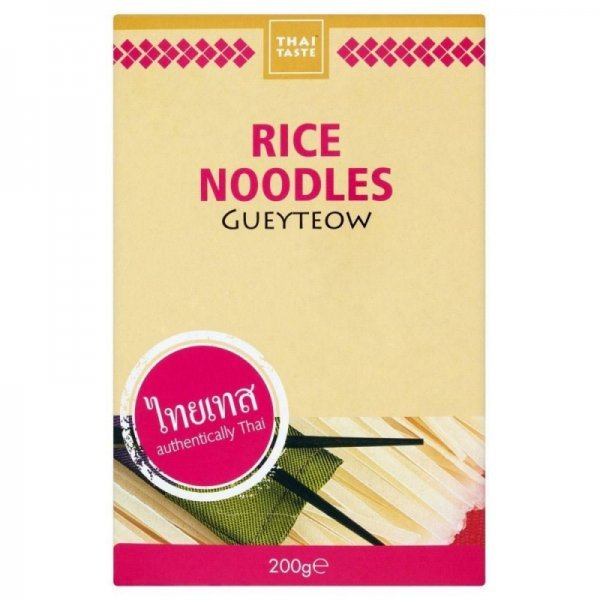 gueyteow rice noodles Thai Taste Nutrition info
