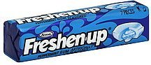 gum peppermint Freshen-up Nutrition info