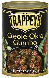 gumbo creole orka Trappeys Nutrition info