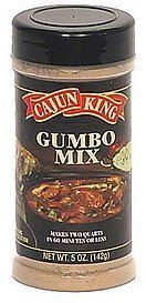 gumbo mix Cajun King Nutrition info