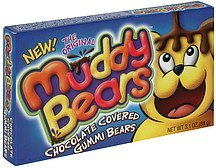 gummi bears chocolate covered Muddy Bears Nutrition info