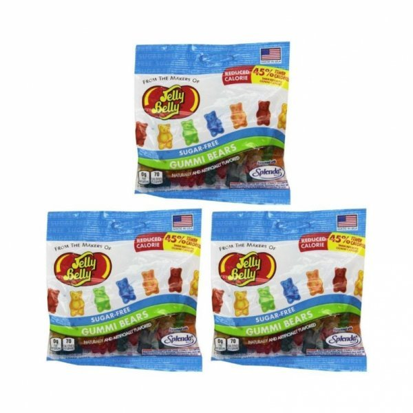 gummi bears sugar-free Jelly Belly Nutrition info