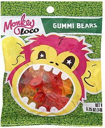 gummi bears Monkey Loco Nutrition info