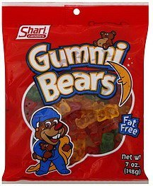 gummi bears Shari Candies Nutrition info