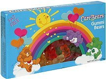 gummi bears Care Bears Nutrition info