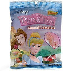 gummi bracelets princess Disney Nutrition info