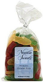 gummi fish assortment Nordic Sweets Nutrition info