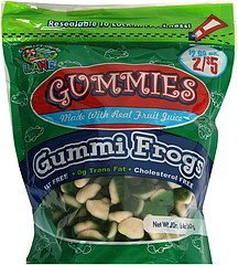 gummi frogs Confectionery Lane Nutrition info
