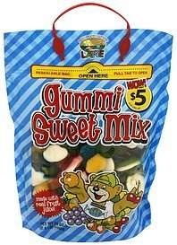gummi sweet mix Confectionery Lane Nutrition info