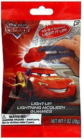gummies disney-pixar cars, light-up lightning mcqueen Frankford Candy & Chocolate Company Nutrition info