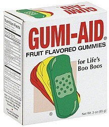 gummies fruit flavored GUmi-Aid Nutrition info