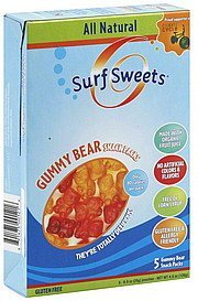 gummy bear snack packs Surf Sweets Nutrition info
