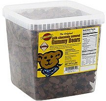 gummy bears milk chocolate covered Koppers Nutrition info