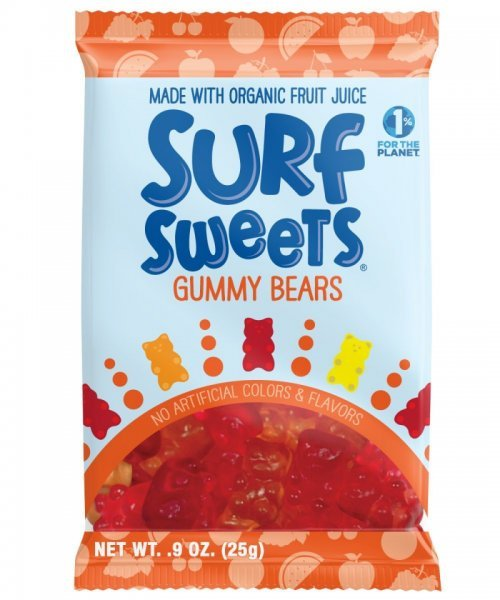 gummy bears Surf Sweets Nutrition info