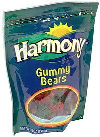 gummy bears Harmony Nutrition info