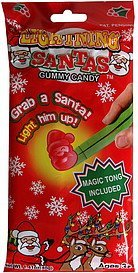 gummy candy magic tong included Lighting Santas Nutrition info