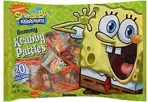 gummy krabby patties nickelodeon spongebob squarepants Frankford Candy & Chocolate Company Nutrition info