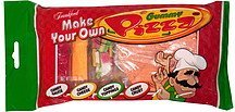 gummy pizza Frankford Candy & Chocolate Company Nutrition info