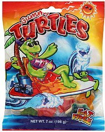 gummy turtles World Confections Nutrition info
