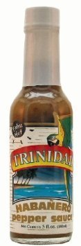 habanero pepper sauce extra hot Trinidad Nutrition info