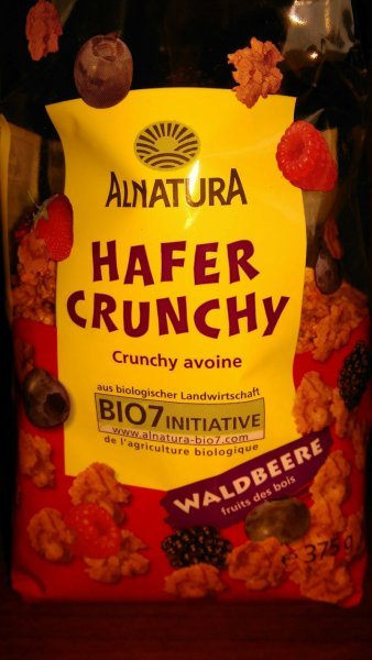 hafer crunchy Alnatura Nutrition info