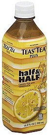 half & half green tea with lemonade Teas Tea Nutrition info