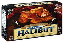 halibut gluten free, crispy battered Starfish Nutrition info