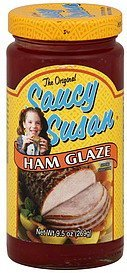 ham glaze the original Saucy Susan Nutrition info