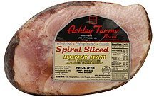 ham honey, spiral sliced Ashley Farms Nutrition info