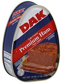 ham premium, water added Dak Nutrition info
