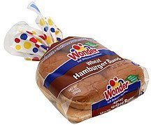 hamburger buns wheat Wonder Nutrition info