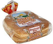 hamburger buns Ozark Hearth Nutrition info