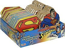 hand decorated cookies superman Color-a-Cookie Nutrition info