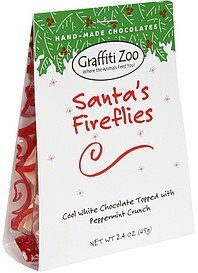 hand-made chocolates santa's fireflies Graffiti Zoo Nutrition info