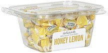 hard candies honey lemon GoNaturally Nutrition info