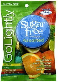 hard candy assorted GoLightly Nutrition info