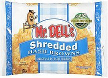 hash browns shredded Mr. Dell's Nutrition info