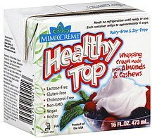 healthy top Mimic Creme Nutrition info
