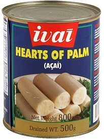 heart of palm Ivai Nutrition info