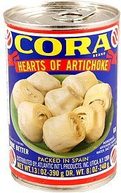hearts of artichoke Cora Nutrition info