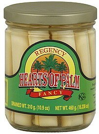 hearts of palm fancy Regency Nutrition info