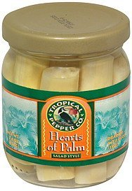 hearts of palm salad style Tropical Pepper Co. Nutrition info