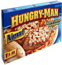 hearty chicken parmigiana Hungry-Man Nutrition info