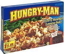 hearty meatball and lasagna bake Hungry-Man Nutrition info