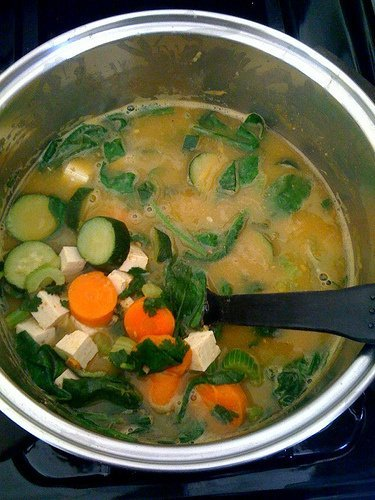 hearty vegetable with pasta soup condensed soup Campbells Nutrition info