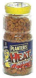 heat spicy peanuts hot Planters Nutrition info