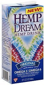 hemp drink original Hemp Dream Nutrition info